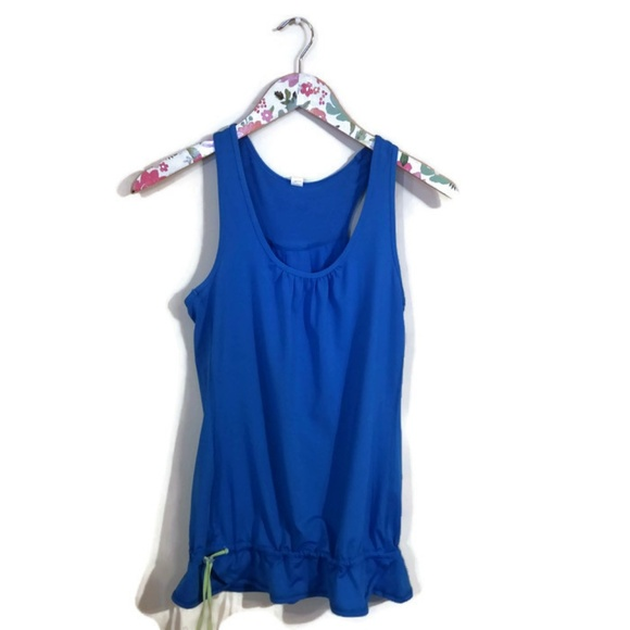 Lucy Tops - Lucy Blue Workout tank Xsmall